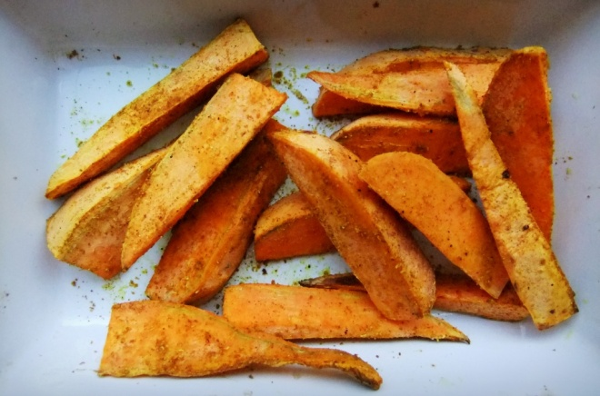 sweet potato cinnamon wedges cymera