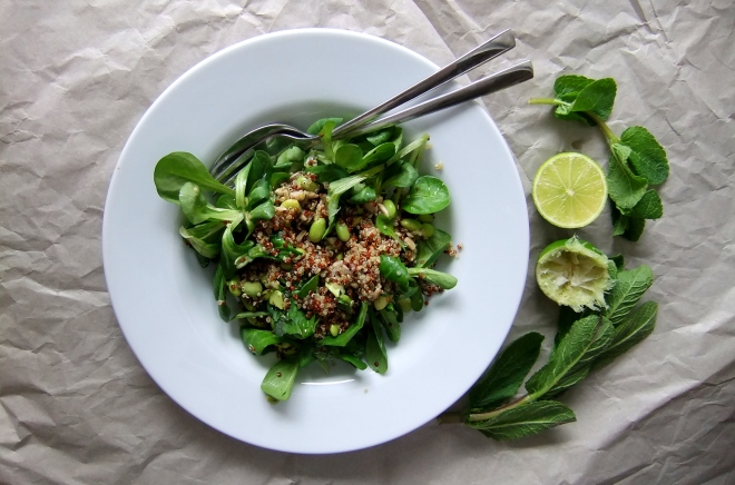 salad quinoa and lime (3)