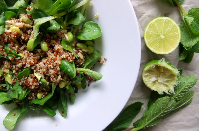 salad quinoa and lime (4)